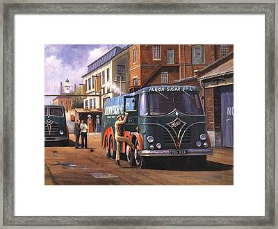 Two Fodens Framed Print by Mike  Jeffries