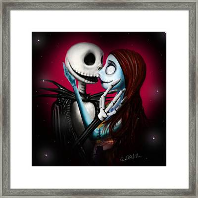 Two In One Heart Framed Print by Alessandro Della Pietra