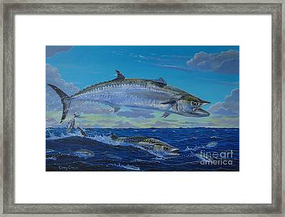 Two Kings Framed Print by Carey Chen