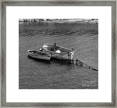 Two Old Rowboats Framed Print by Kathleen Struckle