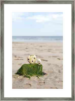 Two On A Beach Framed Print by Svetlana Sewell