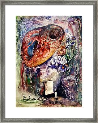 Two Realities Framed Print by Mikhail Savchenko