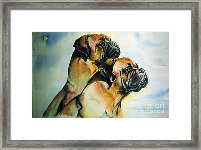 Two Sisters Framed Print by Adele Pfenninger