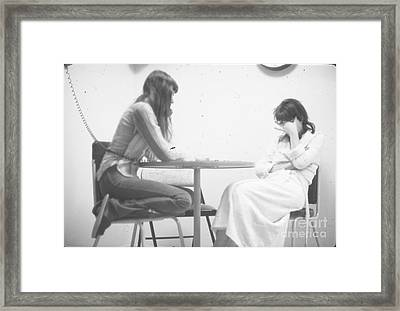 Two Sisters Project 32 Framed Print by Steven Macanka