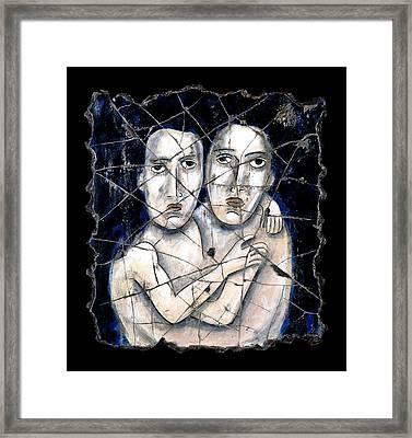 Two Souls Framed Print by Steve Bogdanoff