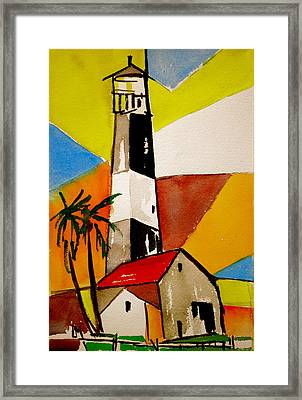Tybee Lighthouse Framed Print by Pete Maier
