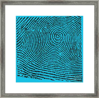 Typical Whorl Pattern, 1900 Framed Print by Science Source