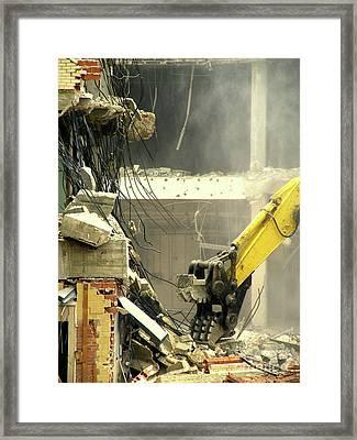 Tyrannosaurus Wrecks Framed Print by Joe Jake Pratt