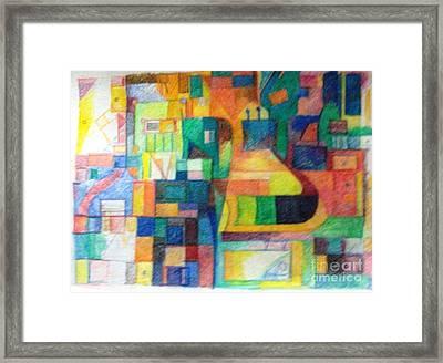 Tzav Framed Print by David Baruch Wolk