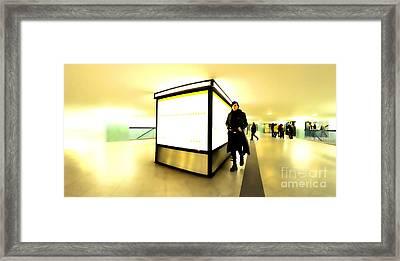 U-bahn Framed Print by Phil Robinson