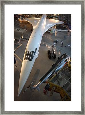 Udvar-hazy Center - Smithsonian National Air And Space Museum Annex - 1212105 Framed Print by DC Photographer