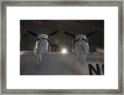 Udvar-hazy Center - Smithsonian National Air And Space Museum Annex - 1212106 Framed Print by DC Photographer