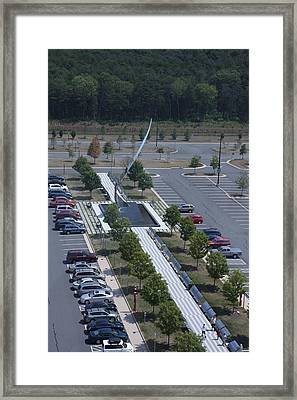 Udvar-hazy Center - Smithsonian National Air And Space Museum Annex - 1212111 Framed Print by DC Photographer