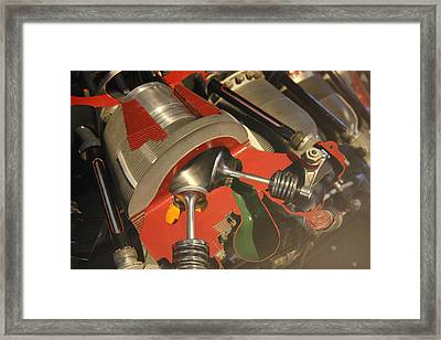Udvar-hazy Center - Smithsonian National Air And Space Museum Annex - 121213 Framed Print by DC Photographer