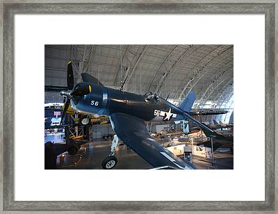 Udvar-hazy Center - Smithsonian National Air And Space Museum Annex - 12122 Framed Print by DC Photographer