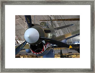 Udvar-hazy Center - Smithsonian National Air And Space Museum Annex - 12124 Framed Print by DC Photographer