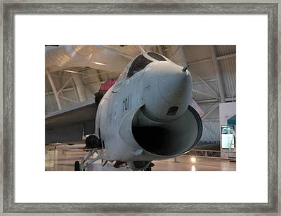 Udvar-hazy Center - Smithsonian National Air And Space Museum Annex - 121241 Framed Print by DC Photographer