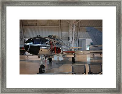 Udvar-hazy Center - Smithsonian National Air And Space Museum Annex - 121242 Framed Print by DC Photographer