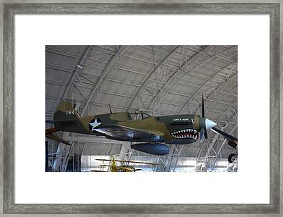 Udvar-hazy Center - Smithsonian National Air And Space Museum Annex - 121251 Framed Print by DC Photographer