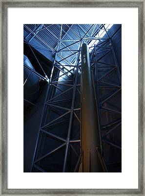 Udvar-hazy Center - Smithsonian National Air And Space Museum Annex - 121258 Framed Print by DC Photographer