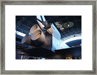 Udvar-hazy Center - Smithsonian National Air And Space Museum Annex - 121272 Framed Print by DC Photographer