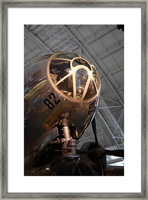 Udvar-hazy Center - Smithsonian National Air And Space Museum Annex - 121288 Framed Print by DC Photographer