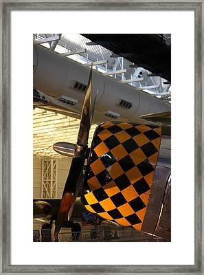 Udvar-hazy Center - Smithsonian National Air And Space Museum Annex - 121289 Framed Print by DC Photographer