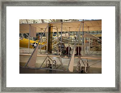 Udvar-hazy Center - Smithsonian National Air And Space Museum Annex - 121292 Framed Print by DC Photographer