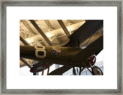 Udvar-hazy Center - Smithsonian National Air And Space Museum Annex - 121294 Framed Print by DC Photographer