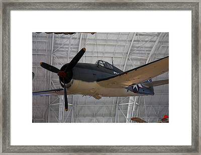 Udvar-hazy Center - Smithsonian National Air And Space Museum Annex - 121295 Framed Print by DC Photographer