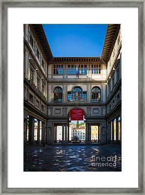 Uffizi Framed Print by Inge Johnsson