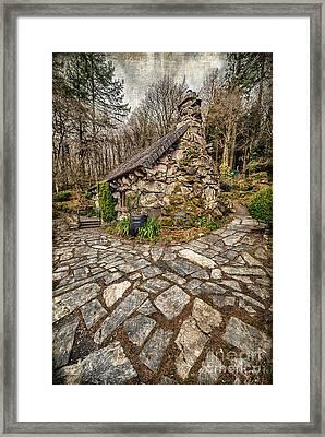 Ugly Cottage Framed Print by Adrian Evans
