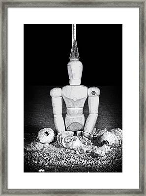 Uh Oh Screwed Again Framed Print by Tom Mc Nemar
