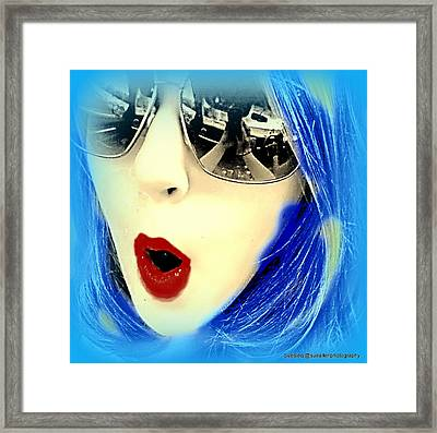 Uh Oh Framed Print by Sue Rosen