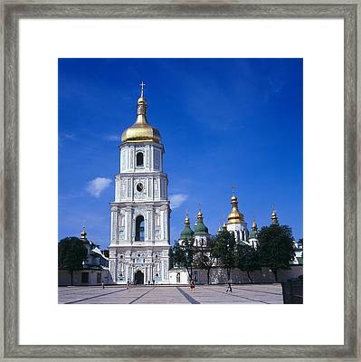 Ukraine. Kiev. Saint Sophia Cathedral Framed Print by Everett