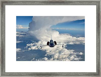 Ultimate Interceptor Framed Print by Peter Chilelli