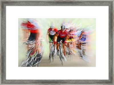 Ultimo Giro # 2 Framed Print by Lou Urlings