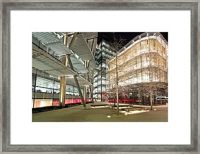 Ultra Modern Facades Framed Print by Ollie Taylor