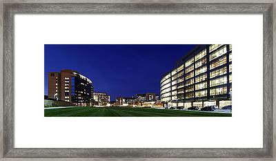 Umass Memorial Medical Center  Framed Print by Juergen Roth