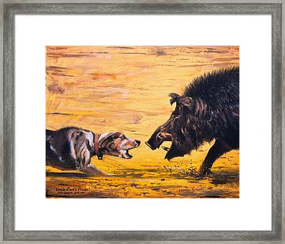 Uncle Earl's Pride Framed Print by Mike Roberts
