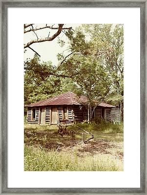 Uncle Toms Cabin Brookhaven Mississippi Framed Print by Michael Hoard