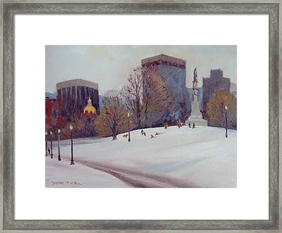 Uncommon Fun Framed Print by Dianne Panarelli Miller