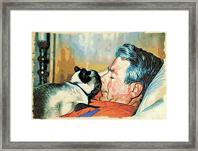 Unconditional Love Framed Print by Phyllis Kaltenbach