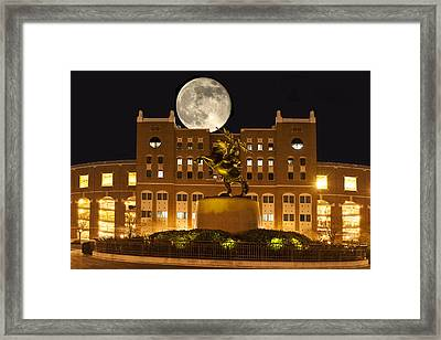 Unconquered Doak Campbell Full Moon Framed Print by Frank Feliciano
