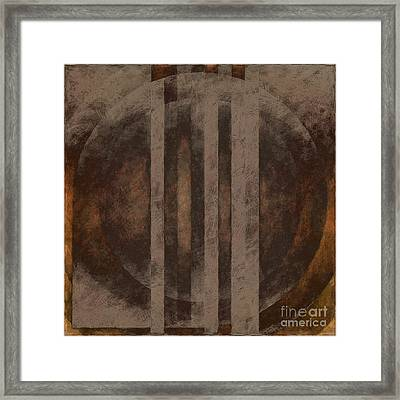 Unconscious Variation Framed Print by Lonnie Christopher