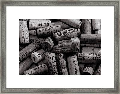 Uncorked  Framed Print by William Huchton