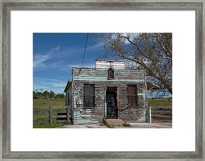 Undelivered Mail Framed Print by Skip Willits