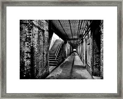 Under Alcatraz Framed Print by Benjamin Yeager