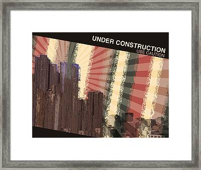 Under Construction Framed Print by Phil Perkins