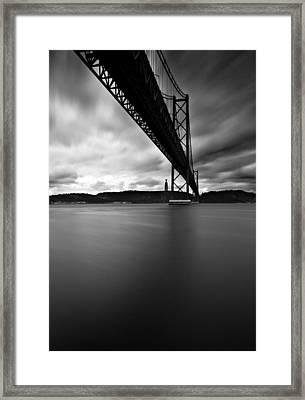 Under Framed Print by Jorge Maia